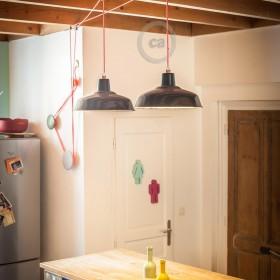 Pascal Flamant: Τροχαλία για Φωτιστικό κουζίνας